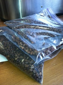 Hey, coffee pros: no comments about using zip-seal bags, k?
